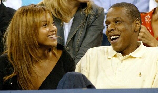 Beyoncé y su esposo, el rapero Jay Z, son considerados como una de las parejas más estables de la farándula internacional. Foto: AP