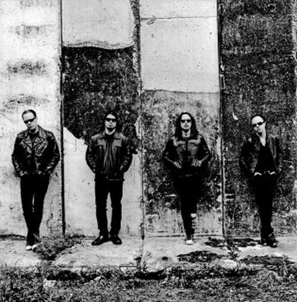 Hetfield, Trujillo, Hammet y Ulrich prometen una impresionante mezcla entre cine y música. Fotografía: Cortesía de Universal Music.