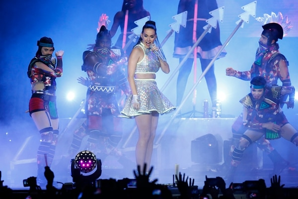 Katy Perry llenó el Parque Viva el domingo 18 de octubre.