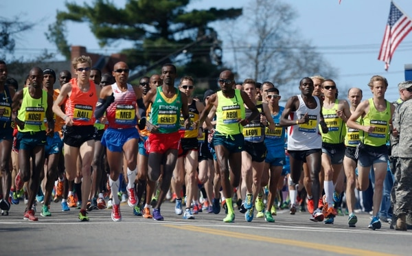 La maratón de Boston se corre este lunes.