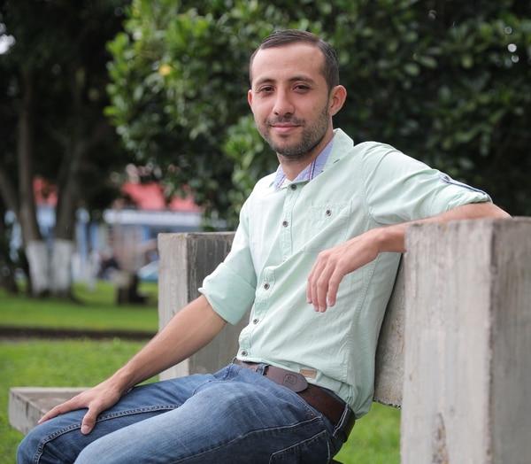 Marcial Leiva, director de la Filarmonía de Dota desde hace 3 años. Foto Jeffrey Zamora