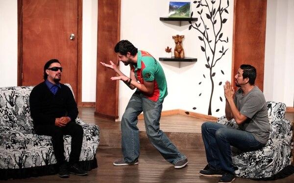 El espectáculo 'Los Bonobos' en el teatro Torres. Fotografia: Graciela Solis