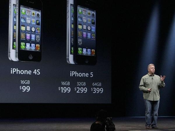 El vicepresidente de mercadeo global de Apple, Phil Schiller, presentó en setiembre anterior el nuevo modelo de iPhone. | ARCHIVO.