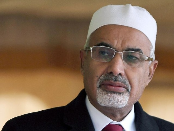 Mohamed Al Megaryef fue embajador en India bajo el mandato de Gadafi. | AFP