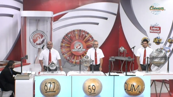 El premio acumulado alcanzó, este martes, la cifra récord de ¢1.500 millones. El sorteo se realizó en el auditorio de la Junta de Protección Social.