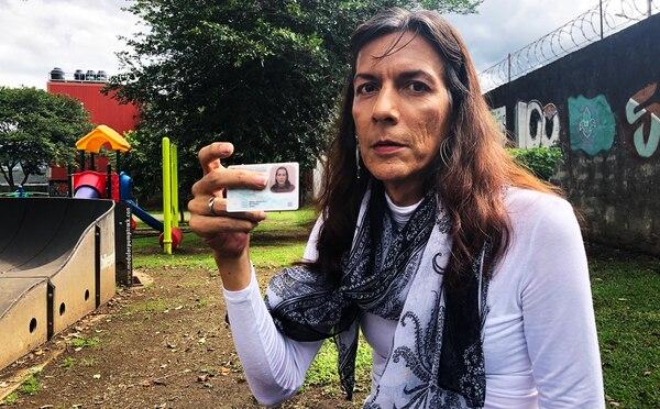 María Francisca Mayorga es una de las 450 personas con género autopercibido en el TSE. Fotografía: Juan Diego Córdoba
