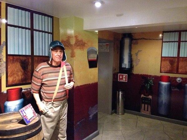 El Chavo del 8 en el Museo de Cera, de la Ciudad de México. Fotografía: Jairo Villegas s.