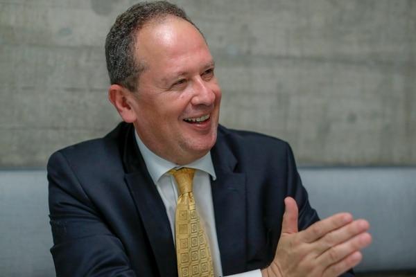Randall Quirós, quien fue ministro de Obras Públicas y Transportes en el gobierno de Abel Pacheco, es el nuevo presidente del Comité Ejecutivo del PUSC. Fotografía: José Cordero.
