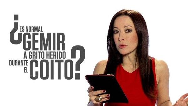 (Video) Sexóloga Flavia Dos Santos: La vecina grita más que tú y, ¿eso te preocupa?