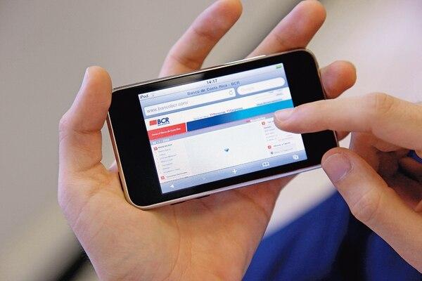Según los expertos, conviene digitar la dirección del banco en el navegador para asegurarse que se está visitando la página verdadera. | ARCHIVO.