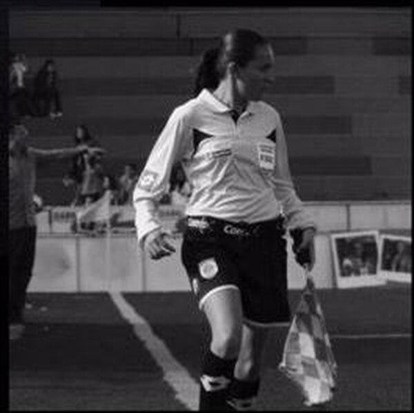 Katherine Jiménez se desempeñaba como asistente arbitral en el fútbol de la Liga de Ascenso.