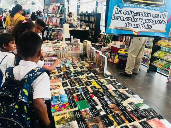 En el 2019, la Feria Internacional del Libro en San José se unió al festival literario Centroamérica Cuenta. Foto: Archivo LN.