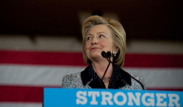 La excandidata presidencial demócrata, Hillary Clinton, se reunió con sus seguidores en Pittsburgh, Pensilvania, el 14 de junio del 2016.