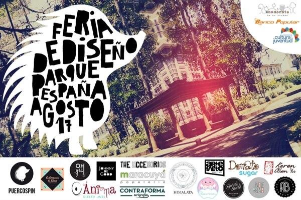 Tico. Afiche para promover la Feria de Diseño. PuercoSpin para La Nación.