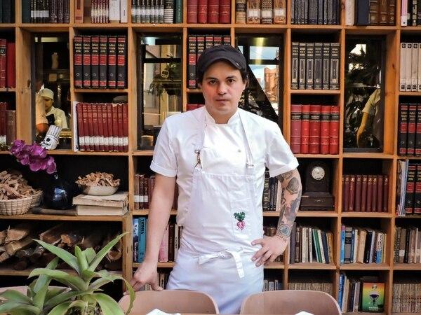 Álvaro Clavijo es el chef del restaurante El Chato, de Bogotá, ubicado actualmente en el puesto 21 de los 50 mejores de Latinoamérica. Foto: Cortesía de Silvestre