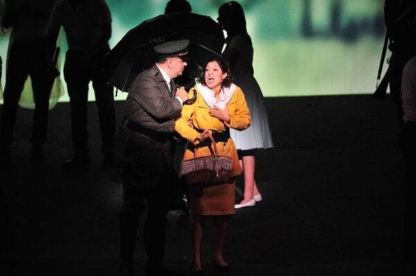 Sofía Corrales cantó en la ópera Carmen (2011). Ahora volverá a cantar con la Sinfónica y lo considera un privilegio. Archivo/Juliana BarqueroRegreso.