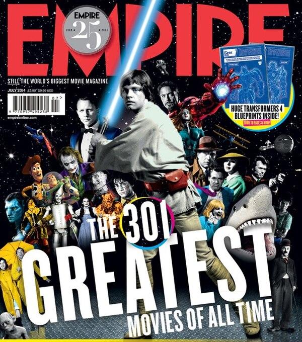 Lectores de 'Empire' eligen a 'Star Wars: el imperio contraataca' como el mejor filme de la historia.