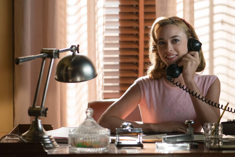 La actriz Marta Hazas interpretó a Clara Montesinos en las series 'Velvet' y 'Velvet: Colección'. Fotografía: Atres Media Player para La Nación