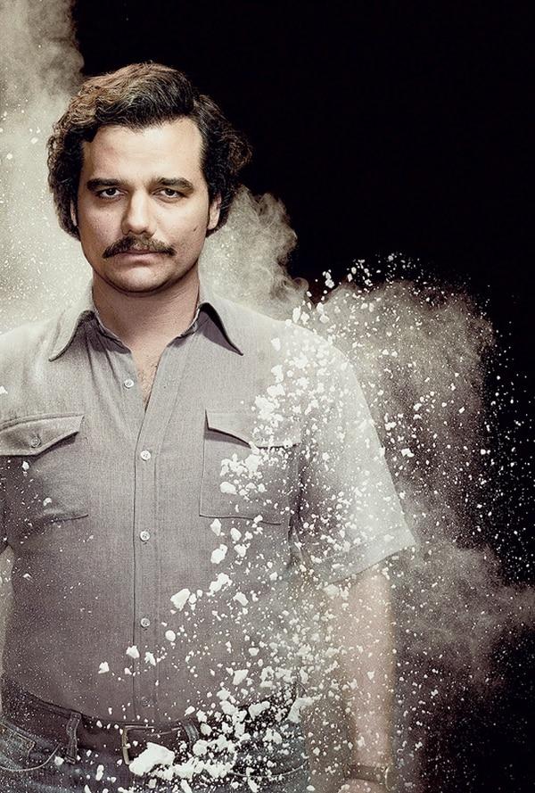 El brasileño Wagner Moura tiene el enorme reto de encarnar a Pablo Escobar.