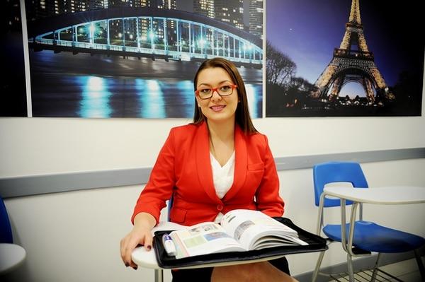 Carolina Morales aprendió portugués para responder a las necesidades de su trabajo, en la firma Eclipse Action.
