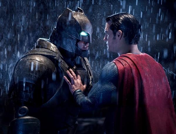 Dinero.El filme Batman vs. Superman recaudó más de 800 millones de dólares en taquilla. Archivo