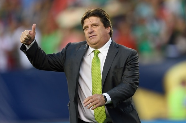 Miguel Herrera dirigió a México en la Copa Oro 2015 y se coronó campeón.