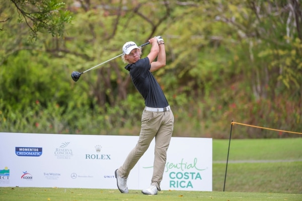Paul Chaplet es uno de los diez costarricenses que están participando en el Essential Costa Rica Classic