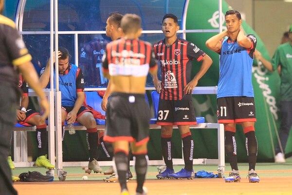 Alajuelense quedó sin el boleto a semifinales a falta de un partido para que finalice la fase regular. Foto: Rafael Pacheco
