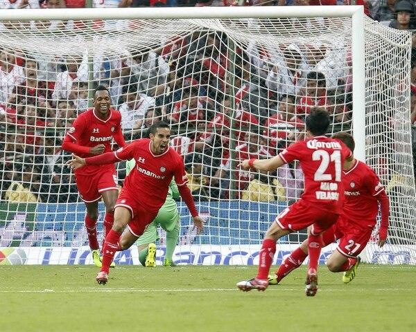 El Toluca igualó a un gol ante el San José Earthquakes por la Liga de Campeones de la Concacaf.