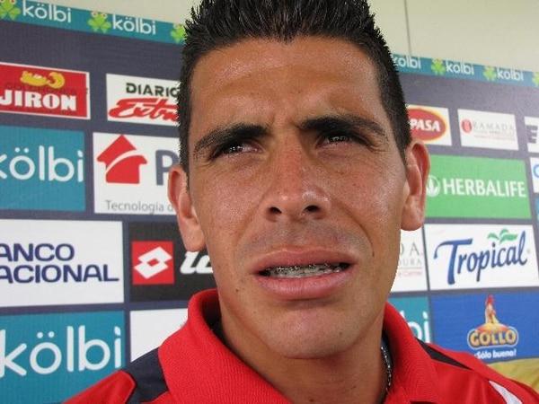 Johnny Acosta fue convocado por Jorge Luis Pinto para el partido que esta noche jugará la Selección contra Honduras. / Archivo