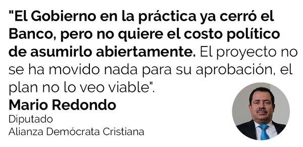 Mario Redondo, diputado Alianza Demócrata Cristiana.