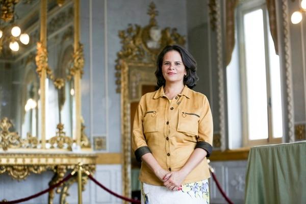 Sylvie Durán Salvatierra es la Ministra de Cultura y Juventud desde la administración Solís Rivera. Foto: Marcela Bertozzi.