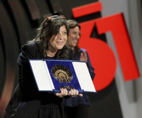 La directora venezolana Mariana Rondón obtuvo la Concha de Oro en el 61.° Festival de Cine de San Sebastián por su película