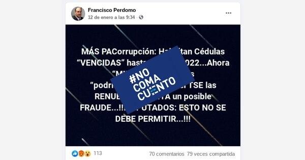 El que se extienda la validez de las cédulas no afectará los controles que aplica el TSE para garantizar que solo voten los costarricenses mayores de 18 años y vivos en el momento de la elección.