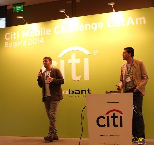 Bernal Pérez, director financiero Mr Rabbit y Gustavo Paniagua, marketing digital de esa empresa