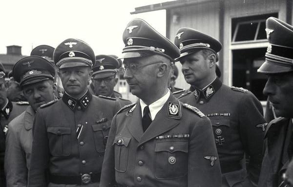 Heinrich Himmler, uno de los más altos dirigentes del régimen nazi.