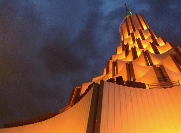 El templo principal de la iglesia La Luz del Mundo está en Guadalajara, México / fotografía tomada del Facebook