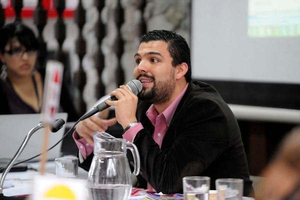Eduardo Solano es asesor del jefe de fracción. | DIANA MÉNDEZ