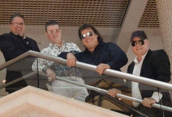 En julio del 2017 Los Chicos, sin Chayanne, cantaron en Costa Rica por última vez. Migue Santa (último a la derecha), concedió una entrevista a La Nación. Foto: Archivo.