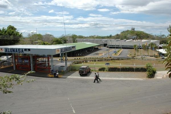 Instalaciones de Alunasa en Esparza.