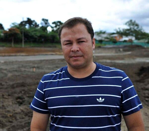 Jorge Soto, encargado de las obras del Comité Cantonal de Deportes y Recreación de San José. | CARLOS GONZÁLEZ