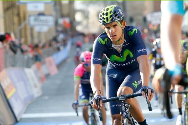 El pedalista Andrey Amador se ubicó en el puesto 46 de la clasificación general del Tour de Romandía en Suiza. | MOVISTAR TEAM