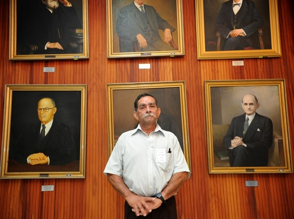 Este 2013 se inició el programa de jueces de pueblo. Juan Luis Quirós, guía turístico cubre el sector de Boca del Río San Carlos.