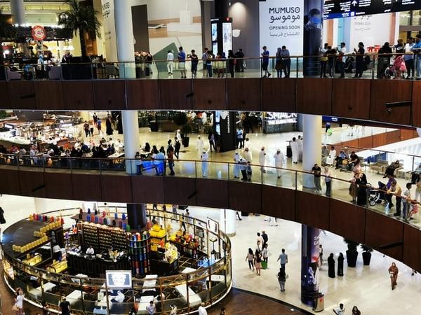 Uno de los centros comerciales de Dubái. Fotografía: María Ligia Sánchez Vega