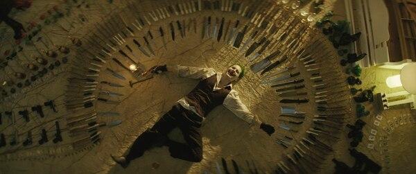 Una de las actuaciones más esperadas es la de Jared Leto como el Guasón. Warner Bros. Pictures