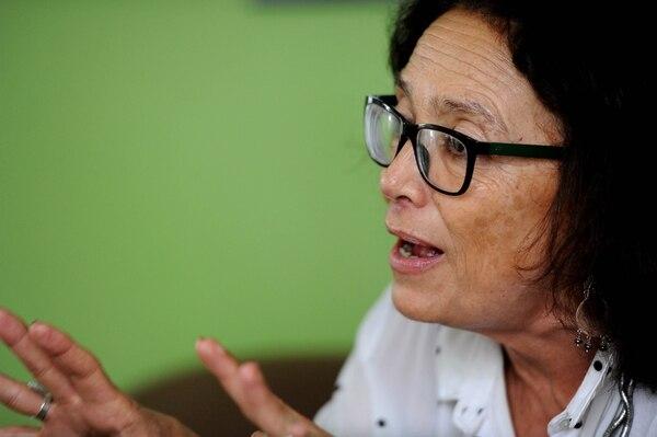 17/07/2018. Patricia Mora criticó plan de reforma fiscal del Gobierno del cual es parte. Fotos Melissa Fernández.