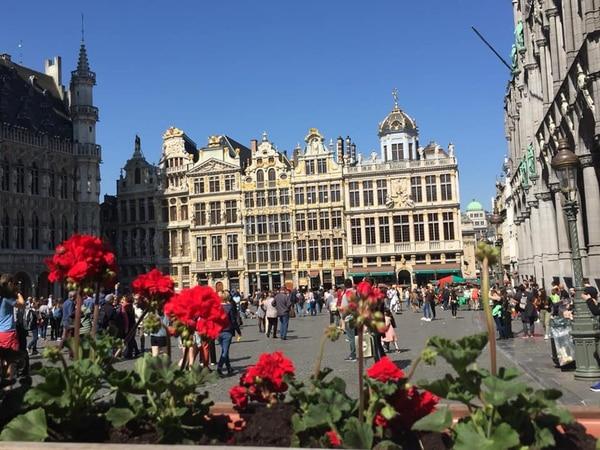 La Gran Place en Bruselas, Bélgica. Fotografía: Rebecca Ugalde Varela