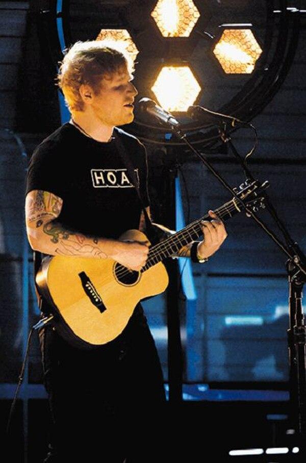 42,2 millones de los 100 millones de usuarios de Spotify escuchan a Ed Sheeran.