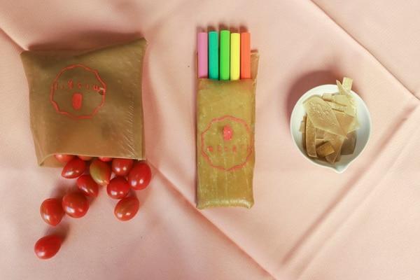 El polímero creado con tiza de indio y almidón de yuca, puede tener diversos usos, como empaques. Jonathan Jiménez Flores para Grupo Nación