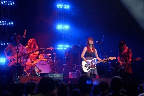 fue una de las 27 bandas costarricenses que se presentó en el Rock Fest 2013. Adriana ArayaThe Great Wilderness